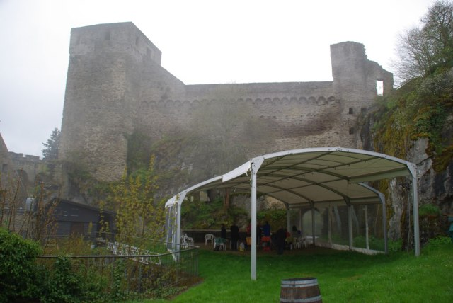 Zelt der Taunusbühne
